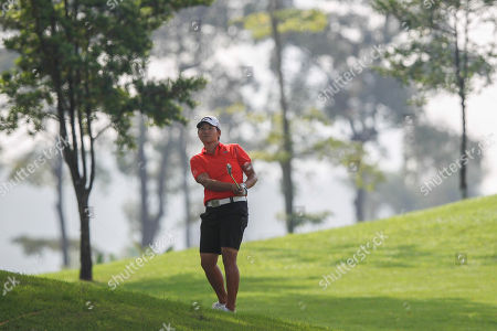 Yani Tseng Yani Tseng of Taiwan hits a shot from the second hole's rough during the second round of the LPGA Malaysia golf tournament at Kuala Lumpur Golf and Country Club in Kuala Lumpur, Malaysia