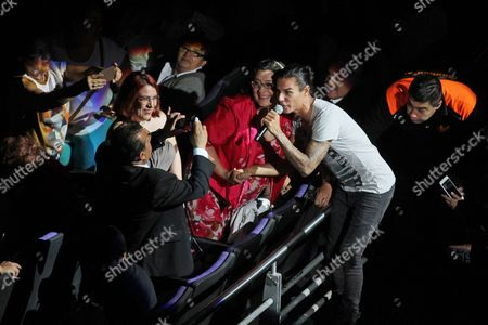 "Julio Iglesias Jr Julio Iglesias Jr. sings among the audience during the concert by his father, Spanish singer Julio Iglesias in Guadalajara, Mexico, . Iglesias is touring Mexico to promote his latest album entitled ""Mexico"", a tribute to Mexican composers"