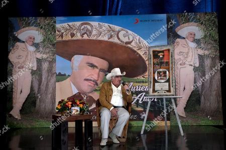 Vicente Fernandez Mexican ranchera music singer and actor Vicente Fernandez gives a news conference in Tlajomulco de Zuniga, Mexico. Fernandez will present his last concert on at Estadio Azteca in Mexico City. According to people who know him, it's a suitable farewell, but may not be the last thing we hear from the star of Mexican regional music