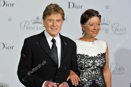 Actor Robert Redford and his wife Sibylle Szaggars Redford arrive at Monaco palace, before Redford received the 2015 Prince Rainier III Award, during the Princess Grace Foundation gala in Monaco, . The Princess Grace Foundation is dedicated to identifying and assisting emerging theater, dance, and film talent by awarding grants