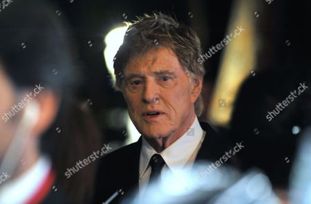 Actor Robert Redford arrives at Monaco palace before receiving the 2015 Prince Rainier III Award, during the Princess Grace Foundation gala in Monaco, . The Princess Grace Foundation is dedicated to identifying and assisting emerging theater, dance, and film talent by awarding grants