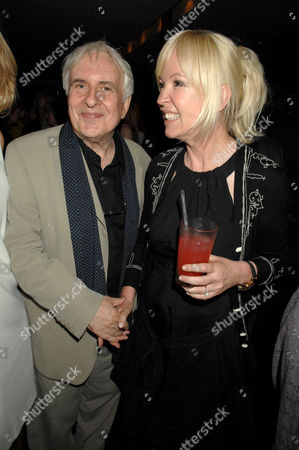 Peter Gill and Old Vic Chief Executive, Sally Greene