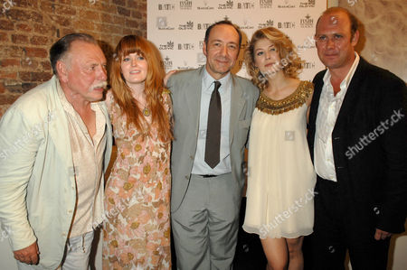The Cast - Andrew Woodall, Kenneth Cranham, Sally Tatum, Kevin Spacey,  Rosamund Pike, Andrew Woodall