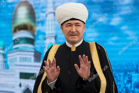 Ravil Gainutdin Russia's top Muslim Cleric Ravil Gainutdin speaks during a press-press conference before the re-opening ceremony of the newly restored Moscow Cathedral Mosque in Moscow, Russia
