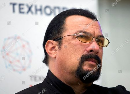 Steven Seagal U.S. actor Steven Seagal speaks at a news conference, while attending an opening ceremony for a research and development center in Moscow, Russia, on . Steven Seagal is in Moscow as a brand innovations 'ambassador' of a Russian IT company