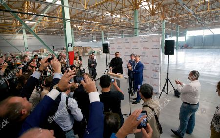 Steven Seagal U.S. actor Steven Seagal, center, attends an opening ceremony for a research and development center in Moscow, Russia, on . Steven Seagal is in Moscow as a brand innovations 'ambassador' of a Russian IT company