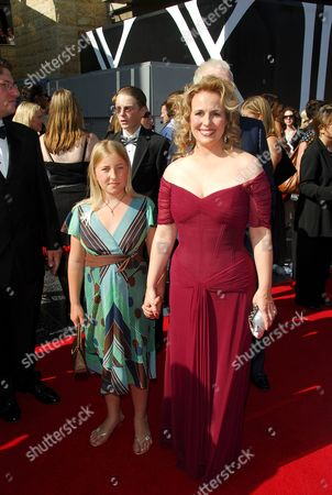 Genie Francis and Daughter