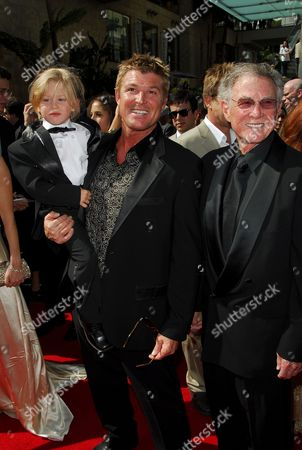 Winsor Harmon and son Winsor Harmon IV with his father Winsor