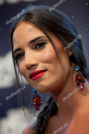 India Martinez Spanish singer India Martinez speaks with the media before her performance in Madrid, Spain