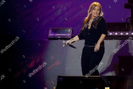 Amaia Montero Spanish singer Amaia Montero performs on the stage in Madrid, Spain