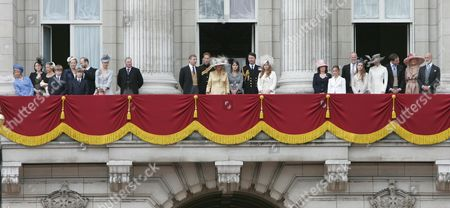 Editorial picture of Trooping of the Colour, London, Britain - 16 Jun 2007