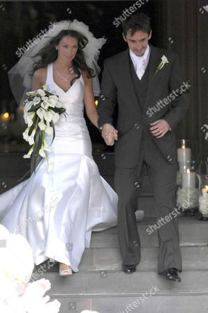 Editorial image of Gary Neville's and Emma Hadfield's Wedding, Manchester Cathedral, Manchester, Britain   - 16 Jun 2007