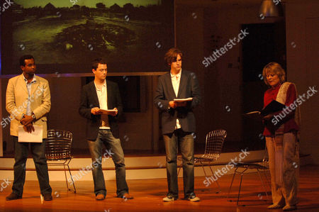 Rageh Omaar, Christian Coulson, Dan Stevens and Sinead Cusack