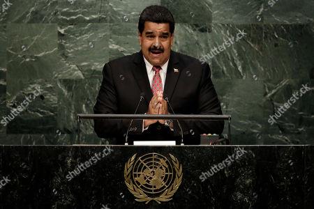 Nicolas Maduro Moros Venezuela's President Nicolas Maduro Moros addresses the 70th session of the United Nations General Assembly, at U.N. Headquarters