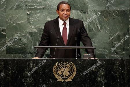 Jakaya Mrisho Kikwete Tanzania's President Jakaya Mrisho Kikwete addresses the 70th session of the United Nations General Assembly, at U.N. Headquarters