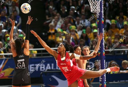 Editorial image of Australia Netball World Cup, Sydney, Australia