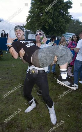 Dirty Sanchez - Matt Pritchard picks up fellow bandmate Lee Dainton