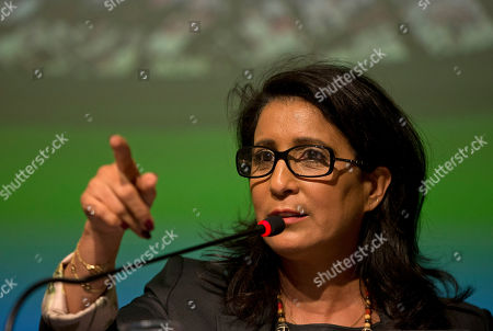 Nawal El Moutawakel Nawal El Moutawakel, head of the International Olympic Committee's evaluation commission speaks during a press conference in Rio de Janeiro, Brazil, . The IOC ends a three-day visit to Rio de Janeiro to check on preparations for the upcoming Rio 2106 Olympics