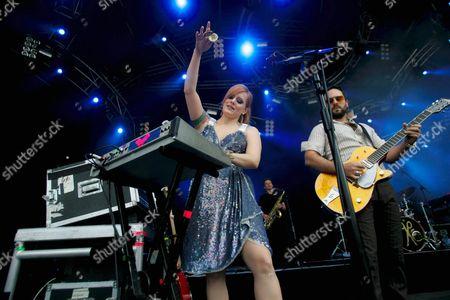 Scissor Sisters - Ana Matronic and Babydaddy