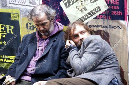 Rik Mayall and Sean McGinley in 'Rik Mayall Presents' - 1995