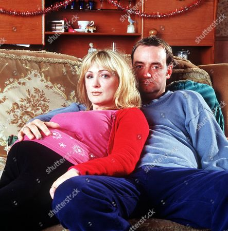 Caroline Aherne and Craig Cash in 'The Royle Family' Christmas - 2000