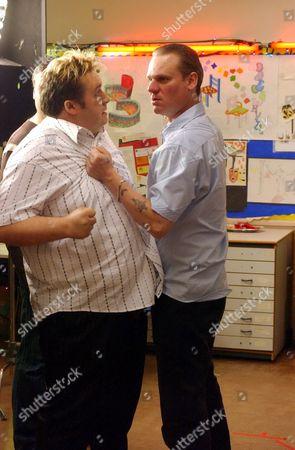 Mark Benton and Trevor Fox in 'Northern Lights' - 2006