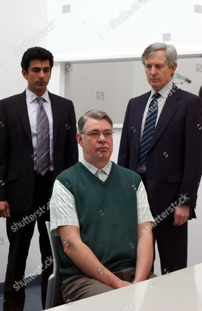 Ace Bhatti, Matthew Kelly and Patrick Drury in 'Cold Blood' - 2005