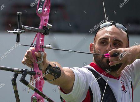 Editorial image of Canada Pan Am Games Archery, Toronto, Canada