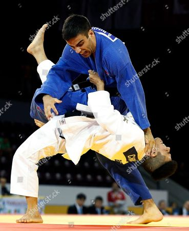 Editorial picture of Canada Pan Am Games Judo, Mississauga, Canada