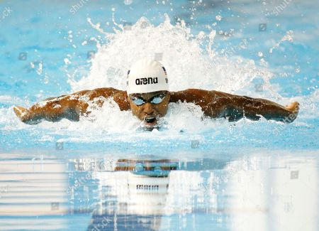 Giles Smith United States' Giles Smith competes in the men's 100m butterfly at the Pan Am Games, in Toronto