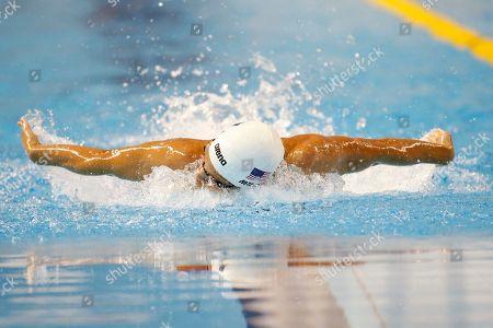Editorial image of Canada Pan Am Games Swimming, Toronto, Canada