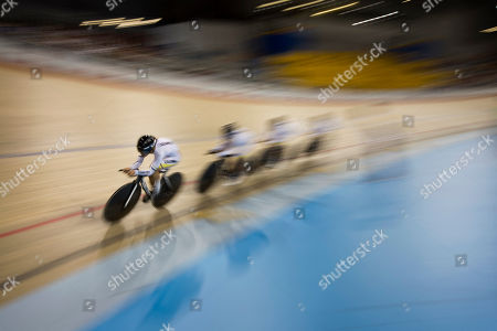 Editorial image of Canada Pan Am Games Track Cycling, Milton, Canada