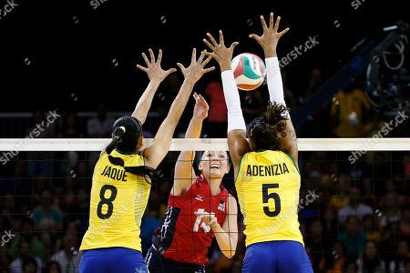 Editorial photo of Canada Pan Am Games Volleyball, Toronto, Canada