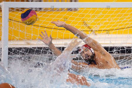 Merrill Moses United States goalkeeper Merrill Moses is unable to stop a shot by Brazil's Felipe Rocha Perrone during the first half of the men's water polo gold medal match at the Pan Am Games, in Markham, Ontario. The U.S. won 11-9