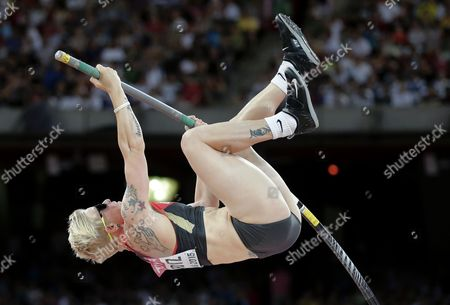Martina Strutz Germany's Martina Strutz competes in the women's pole vault final at the World Athletics Championships at the Bird's Nest stadium in Beijing