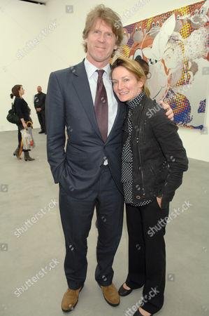 Mark Getty and Ariadne Getty Williams