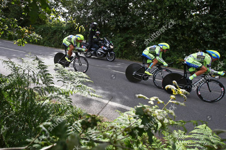 Editorial photo of France Cycling Tour de France, Plumelec, France