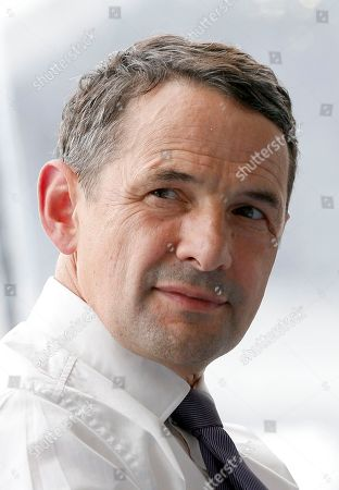 Junior minister for State Reform Thierry Mandon attends the France employer's union MEDEF annual meeting in Jouy en Josas, outside Paris