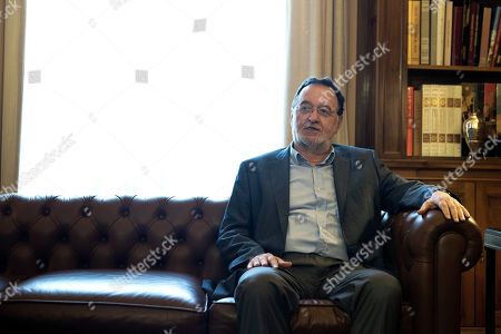 Panagiotis Lafazanis Former Energy Minister and head a party called Popular Unity, Panagiotis Lafazanis, speaks during his meeting with Greek President Prokopis Pavlopoulos, in Athens, . Lafazanis, who heads the newly-formed Popular Unity, received the maximum three-day mandate from the country's president after the head of the main opposition conservative New Democracy failed to form a government