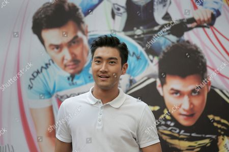 Choi Siwon Choi Siwon, a member of South Korean pop group Super Junior, poses for photographers during a promotional event of his new movie To The Fore in Hong Kong