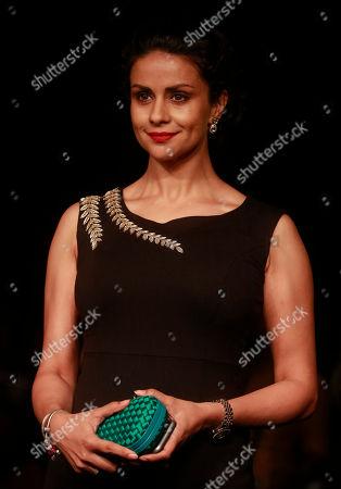 Gul Panag Indian actress Gul Panag poses for photographs during the Lakme Fashion Week in Mumbai, India