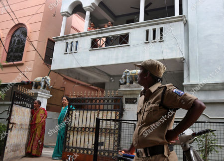 Editorial image of India Libya Indian Detained, Hyderabad, India