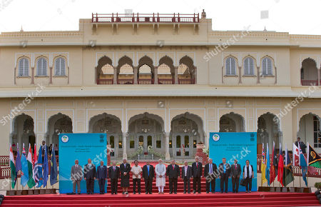 Editorial image of India Pacific Islands Summit, Jaipur, India