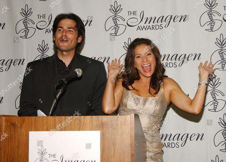 Eddie Matos and Constance Marie
