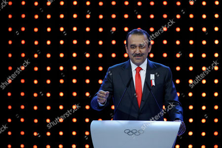 Karim Massimov Kazakhstan's Prime Minister Karim Massimov speaks during the Almaty bid presentation for the host city for the 2022 Winter Games, at the 128th International Olympic Committee session in Kuala Lumpur, Malaysia, Friday, July, 31, 2015