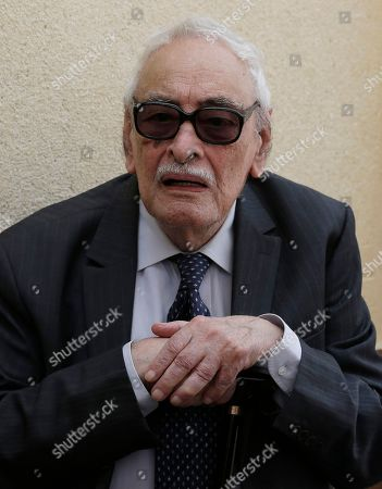 """Gamil Ratib Egyptian actor Gamil Ratib, attends the funeral of Egyptian actor Omar Sharif at the Hussein Tantawi Mosque in Cairo, Egypt, . Sharif, an Egyptian-born actor who soared to international stardom in movie epics, """"Lawrence of Arabia"""" and """"Doctor Zhivago,"""" died in a Cairo hospital of a heart attack on Friday. He was 83"""