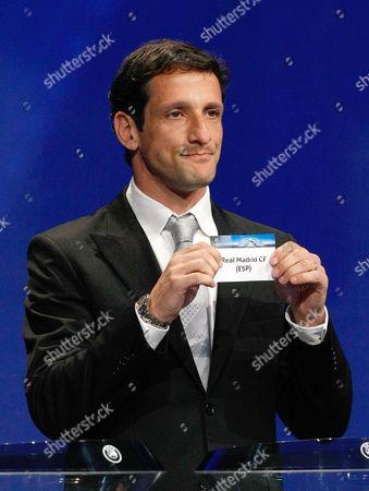 Editorial photo of Monaco Soccer Champions League Draw, Monaco