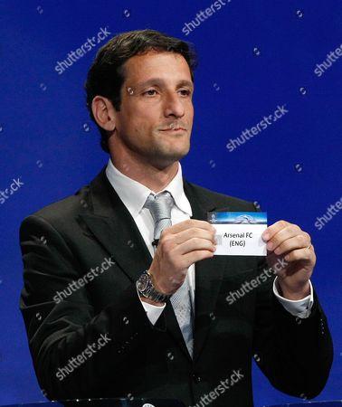 Editorial picture of Monaco Soccer Champions League Draw, Monaco