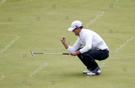 United States' Zach Johnson gets a birdie on the 18th hole during the final round at the British Open Golf Championship at the Old Course in St. Andrews, Scotland. Johnson is among eight players who have signed to play PXG golf clubs this year. PXG is owned by GoDaddy founder Bob Parsons, who thinks there is a market for clubs that cost $5,000 for a full set
