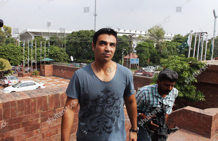 Stock Picture of Salman Butt Pakistani cricketer Salman Butt arrives at Pakistan Cricket Board's headquarters in Lahore, Pakistan, . Pakistan's three cricketers will have to undergo a six-month extensive rehabilitation program before they can return to international cricket after their five-year ban ends on Sept. 1